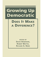 Growing Up Democratic book cover