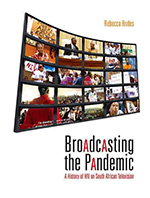 Broadcasting the pandemic book cover