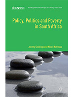 Policy, politics and poverty in South Africa book cover